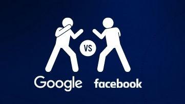 gogole ads ou facebook ads para criação de sites
