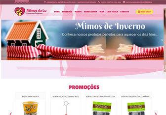 criação de loja virtual profissional para venda de presentes